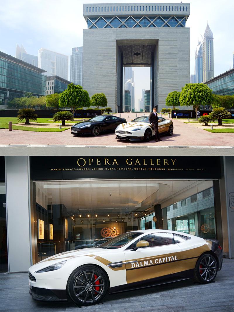 Dalma Capital Car Wrap Project